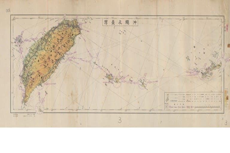 沖繩及臺灣地圖(另開視窗)