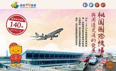 桃園國際機場與周邊交通的發展(另開新視窗)