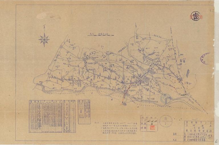 溪州糖廠鐵道線路佈置圖