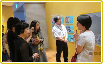 國立故宮博物院南部院區導覽人員解說展覽空間規劃事宜