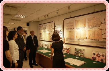 圖5:本監檔案展覽於高雄市立社會教育館展出