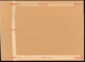 圖3 機密檔案專用封套彌封章參考示意圖(範例)