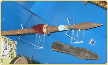 案中海盜所用的矛
