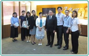 泰國貿易經濟辦事處代表Piroon Laismit蒞局