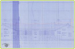 圖4 金廣福公館修復計畫正立面圖檔案