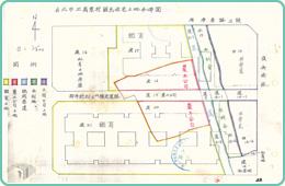 圖6 正義東村國民住宅土地分佈圖檔案