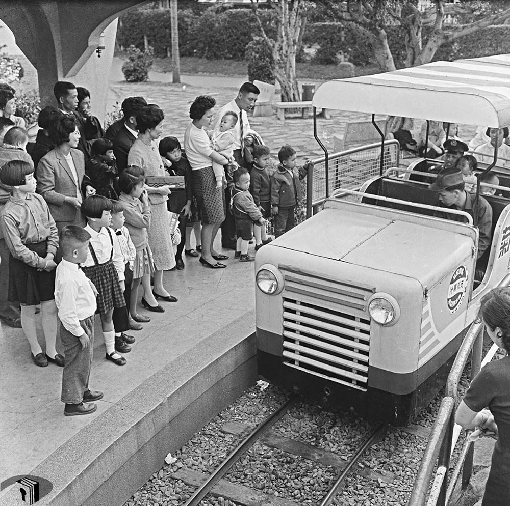 圖9 中山兒童樂園的小電車
