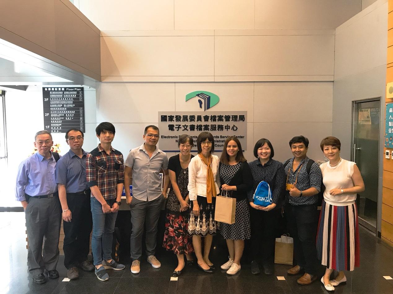 泰國科學技術知識服務圖書館到局參訪
