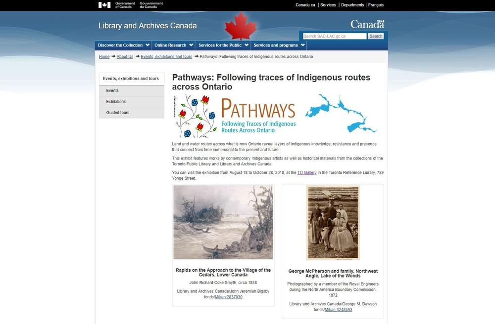 旅途:跟隨安大略省原住民的足跡