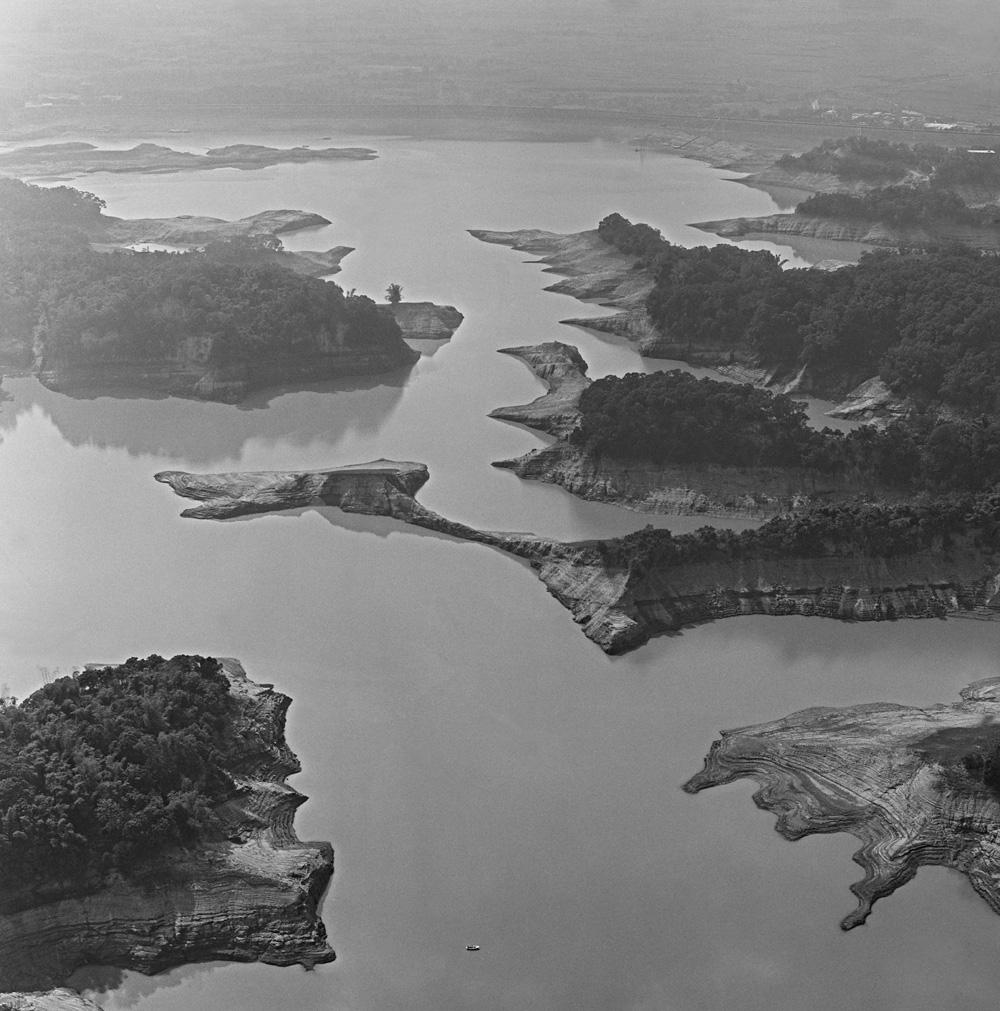 圖4 八田與一所修的烏山頭水庫空拍照