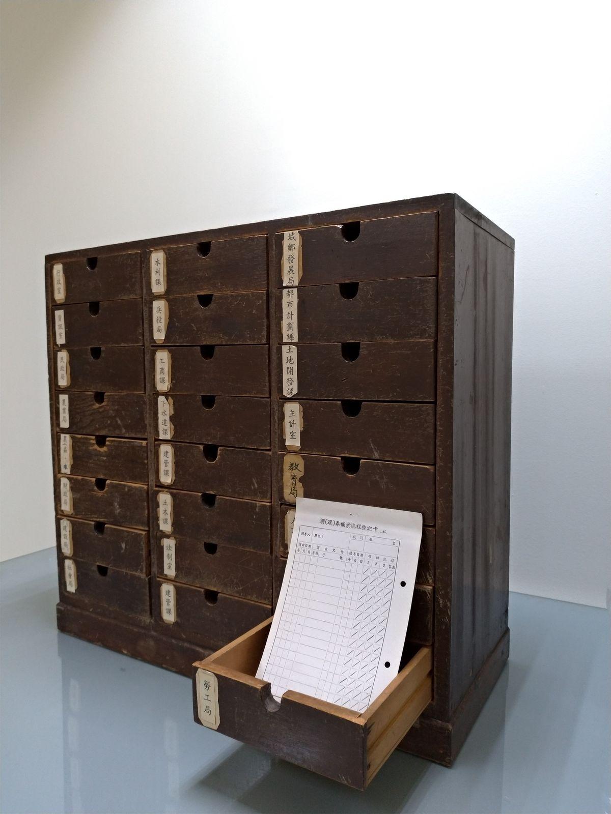 老物欣力-檔案調還卷管理箱