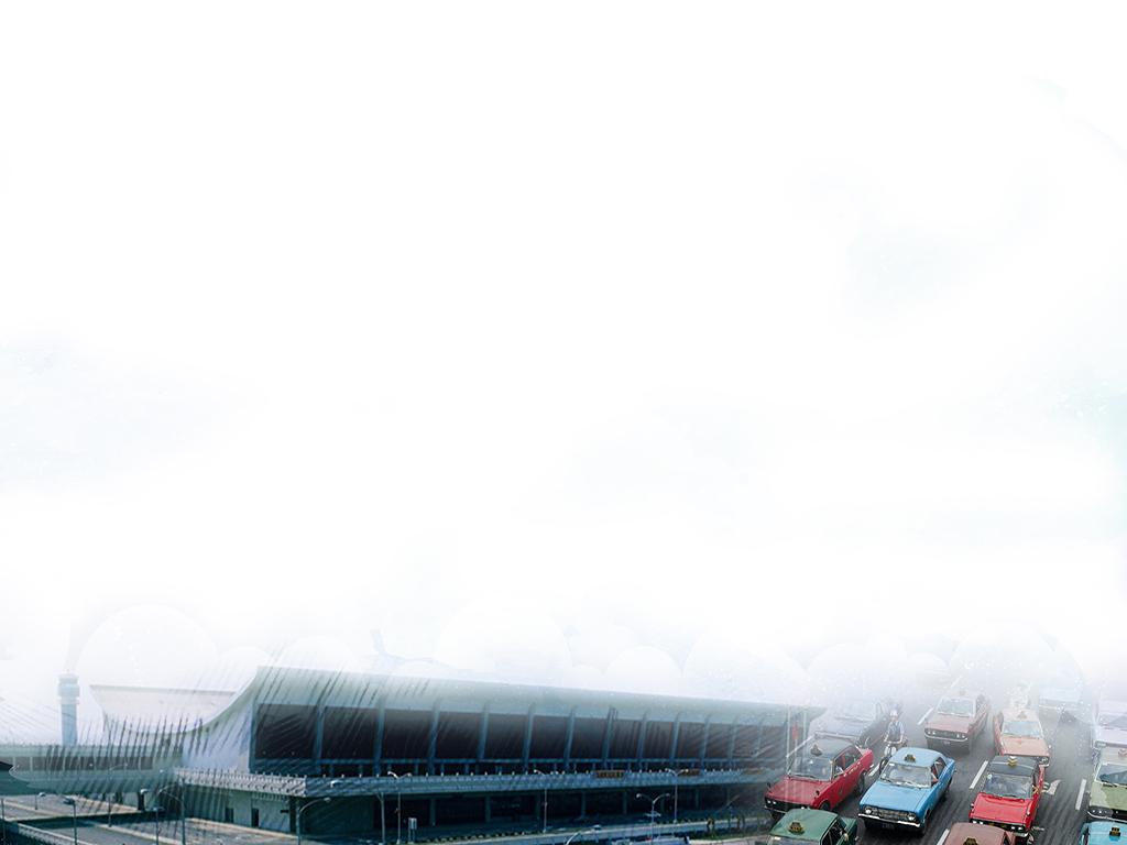 桃園國際機場與周邊交通的發展桌布檔案