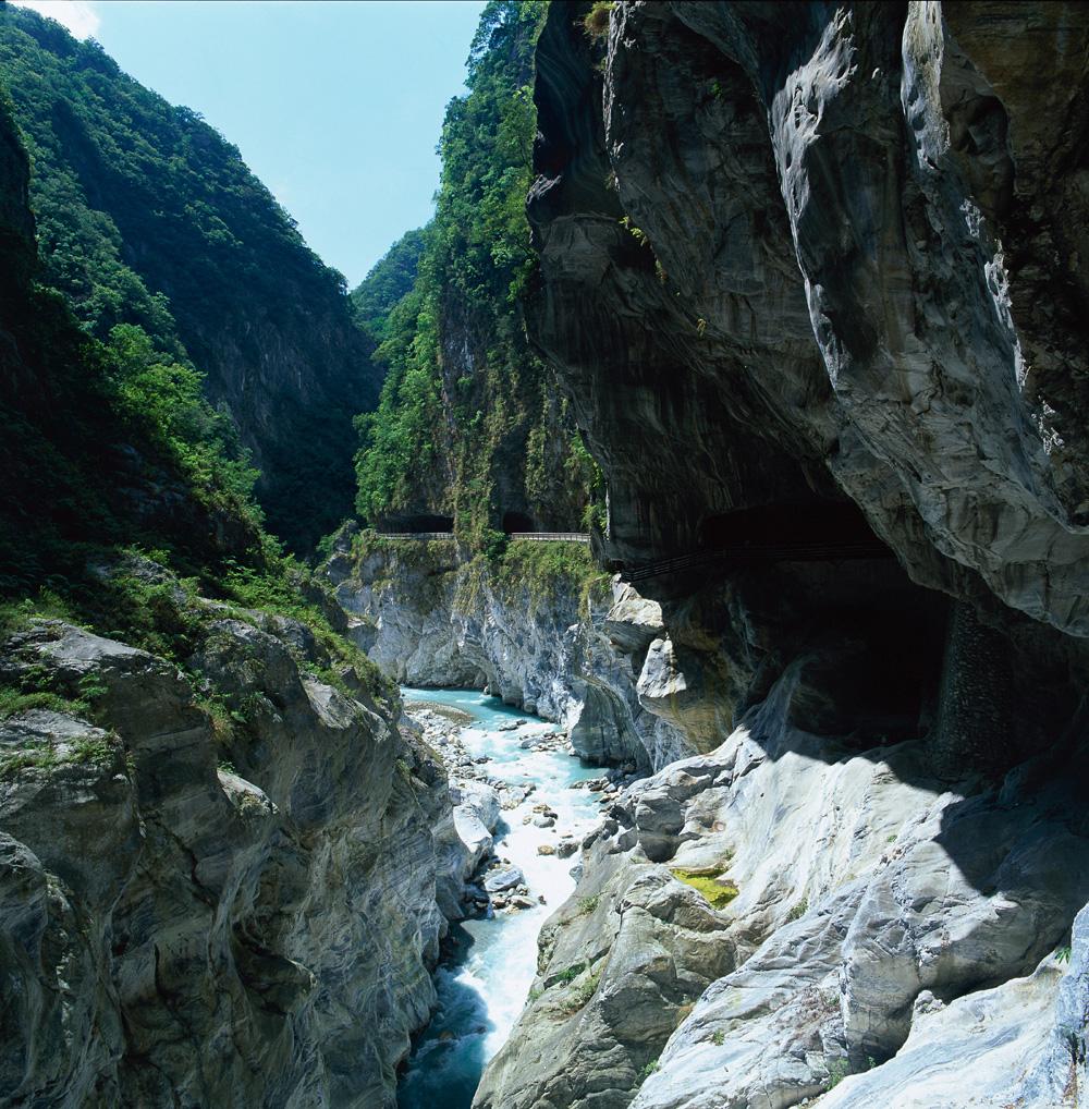 圖12 太魯閣國家公園峽谷景觀