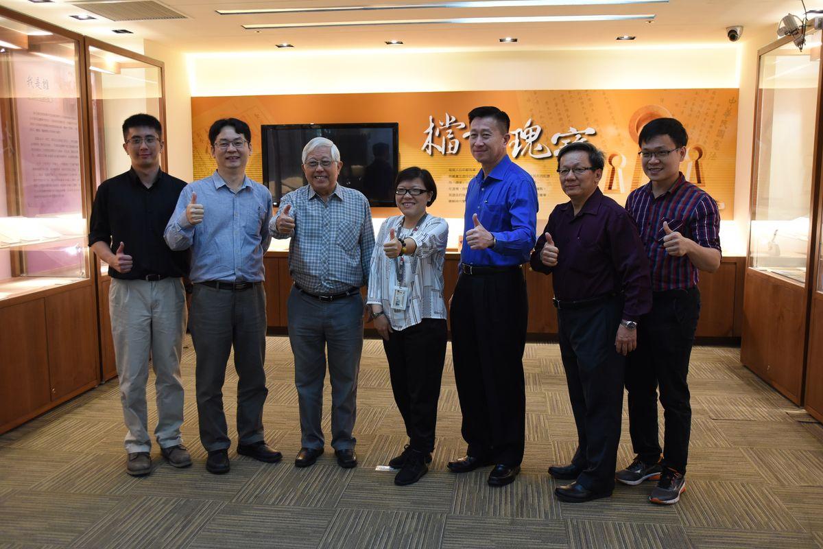 馬來西亞華社研究中心到局參訪