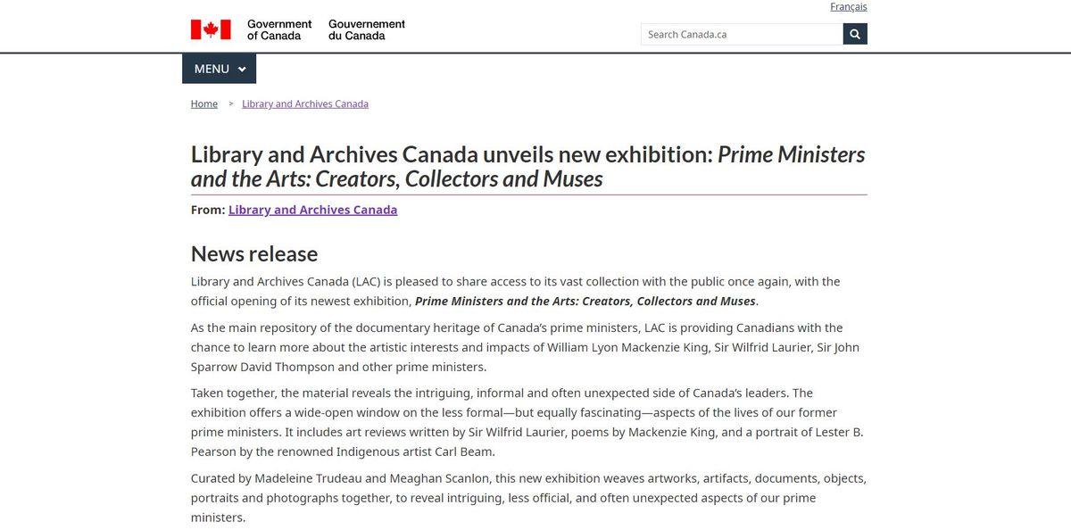 總理與藝術:創作者、收藏家和繆斯