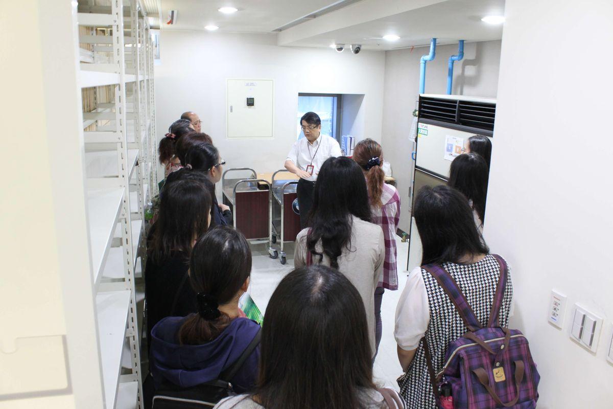 交通部臺灣鐵路管理局宜蘭工務段到局參訪