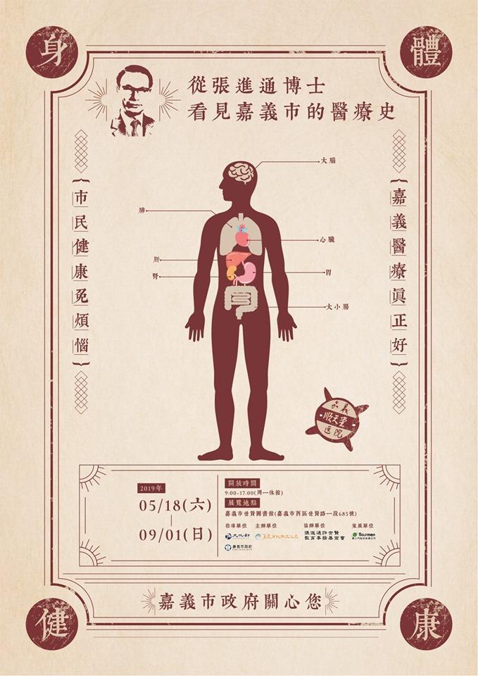 「從張進通博士看見嘉義市的醫療史」特展 共推「失智友善博物館處方箋」