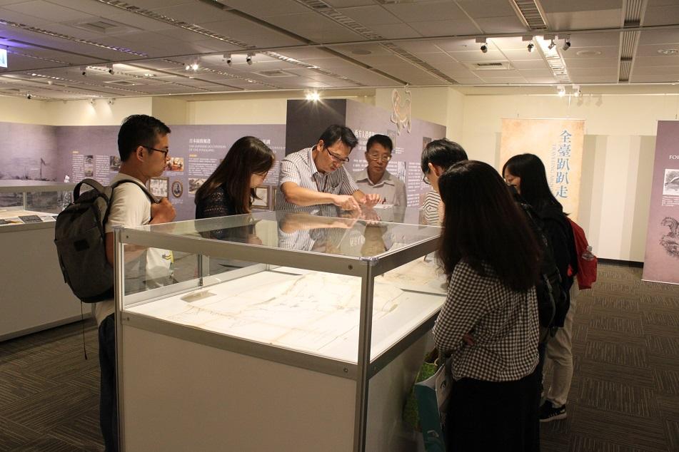 國立清華大學總務處文書組到局參訪