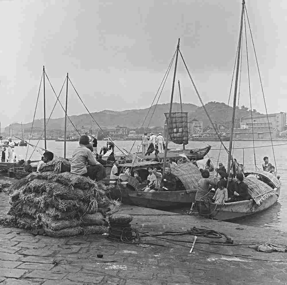 圖1 《聖保羅砲艇》在基隆港取景拍攝