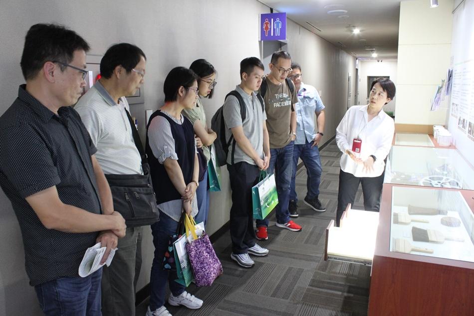 臺中市政府都市發展局到局參訪