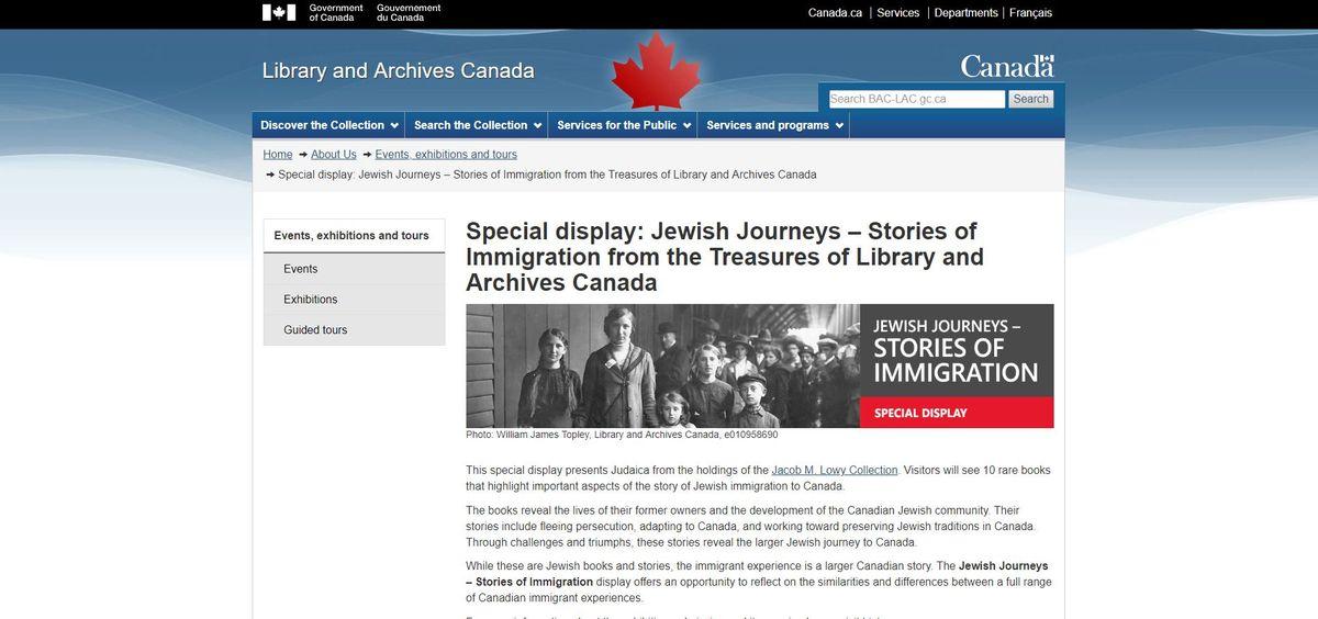 猶太人之旅-移民的故事