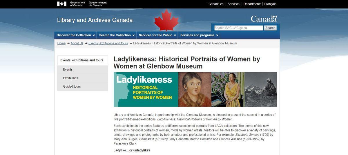 女性歷史肖像特展