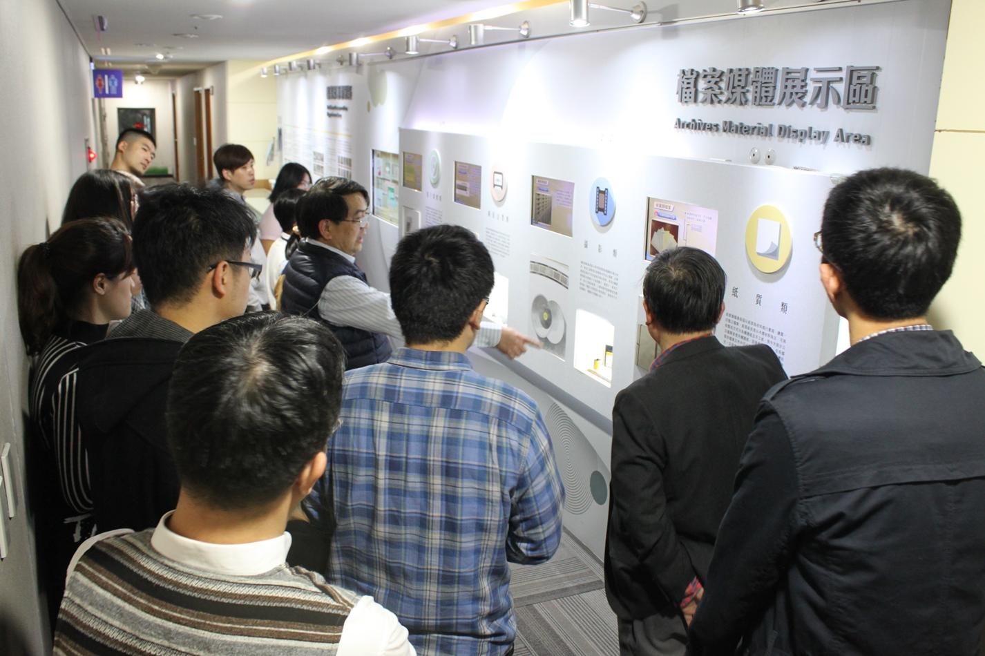 台灣電力股份有限公司總管理處秘書處到局參訪