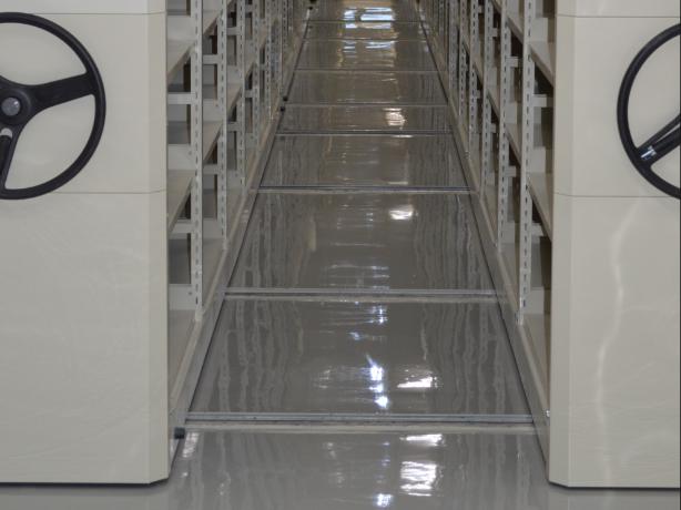 圖1  國家檔案典藏場所環氧樹脂地板