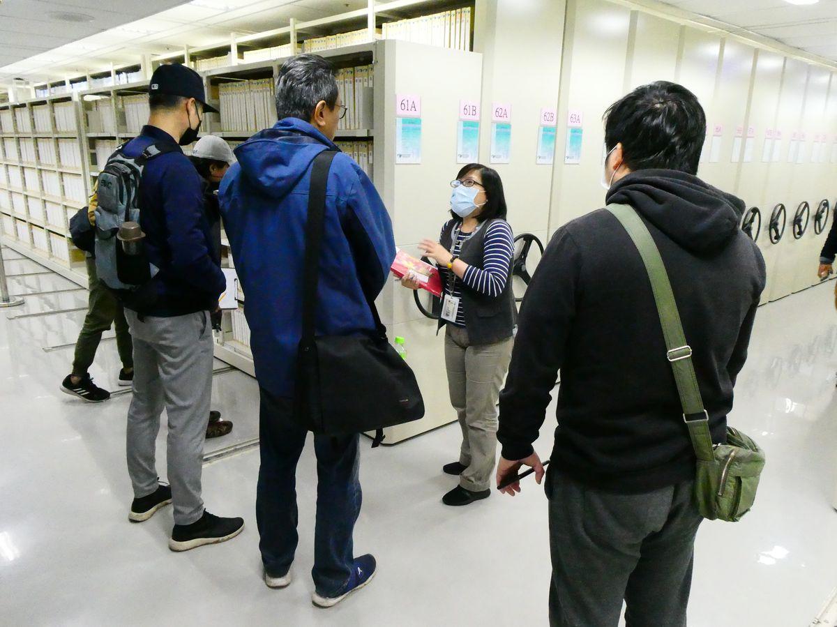 臺北市電影委員會與民間全民電視股份有限公司到局參訪
