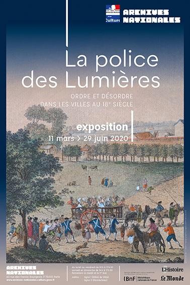 法國國家檔案館展覽-La Police des lumiéres