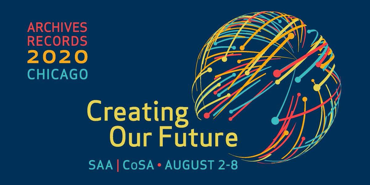 美國檔案人員學會2020年研究論壇開放收件