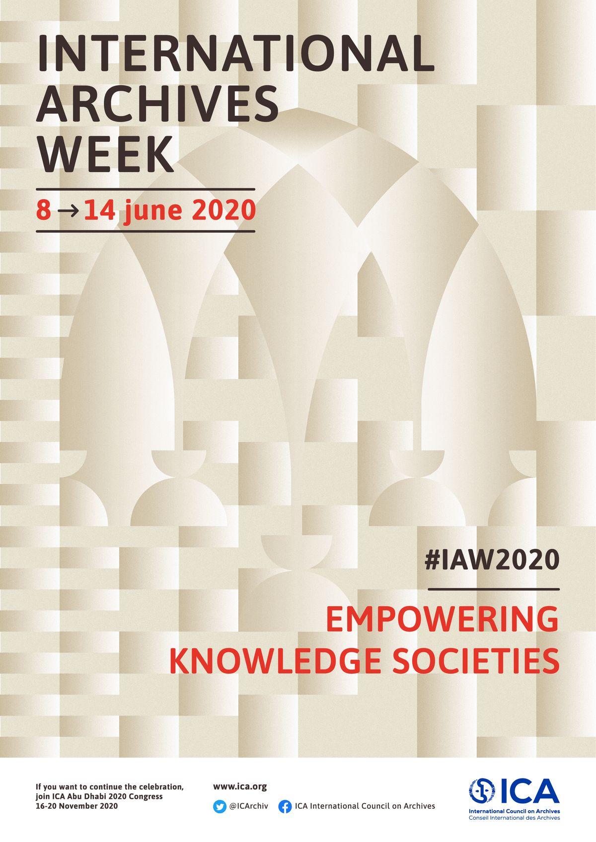 迎接2020國際檔案週