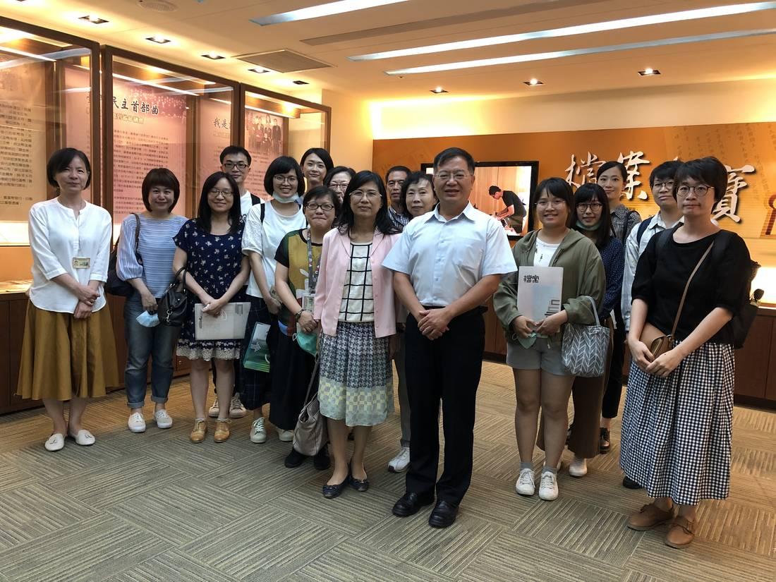 國立故宮博物院登錄保存處到局參訪