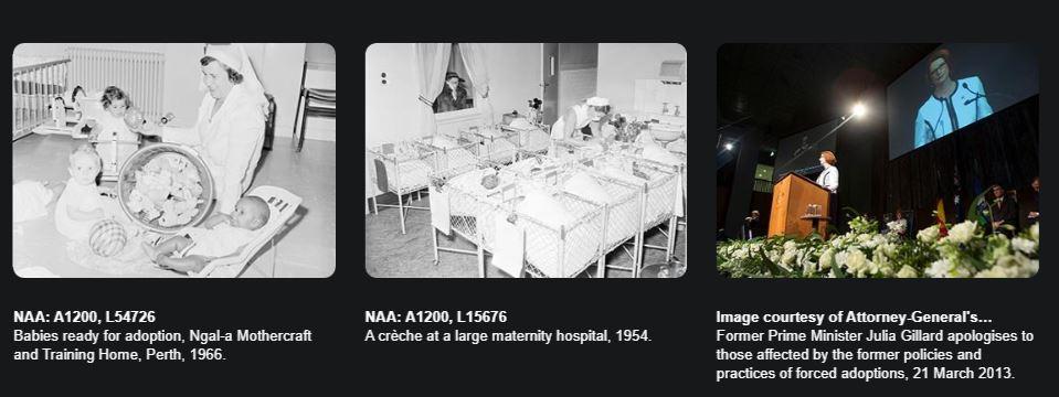 澳洲國家檔案館推出強迫領養歷史特展