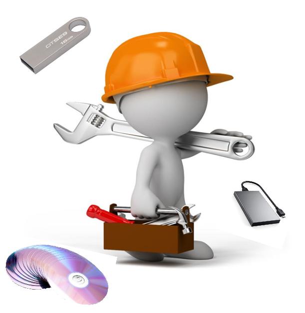 使用檔案救援軟體,救回電子檔案