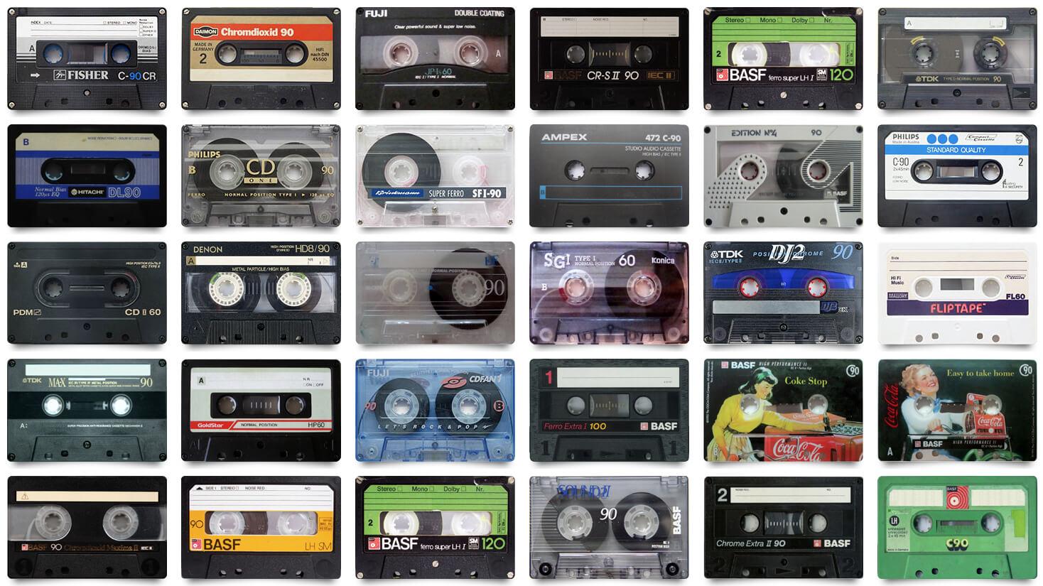 解密卡式錄音帶