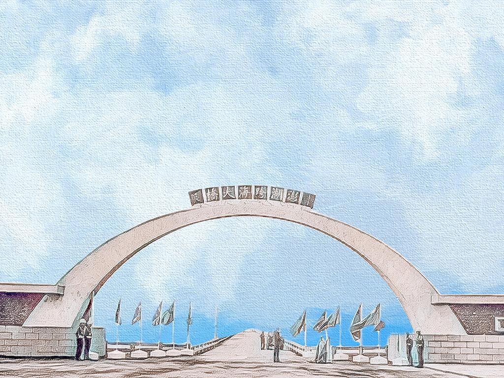 走過五十載的澎湖跨海大橋桌布檔案