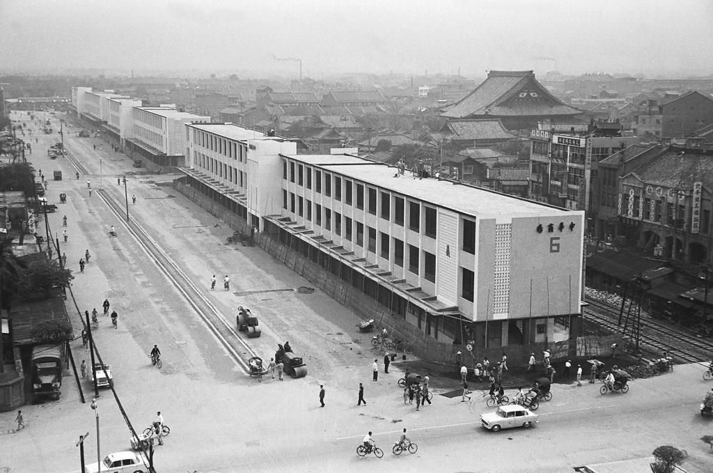 圖4 中華商場鳥瞰