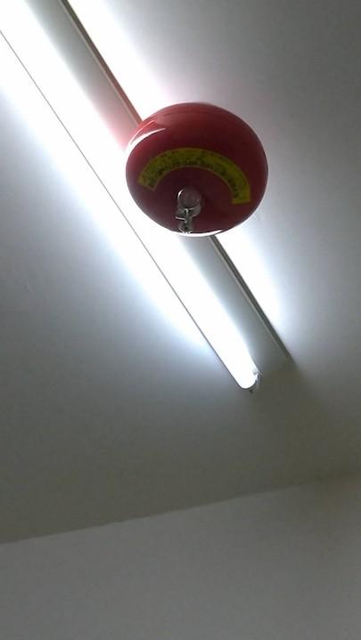 圖3 懸吊式簡易自動滅火裝置