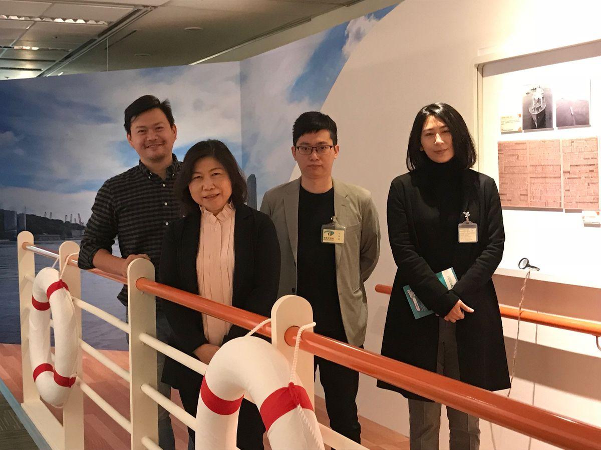 臺灣國家寶藏基金會到局參訪