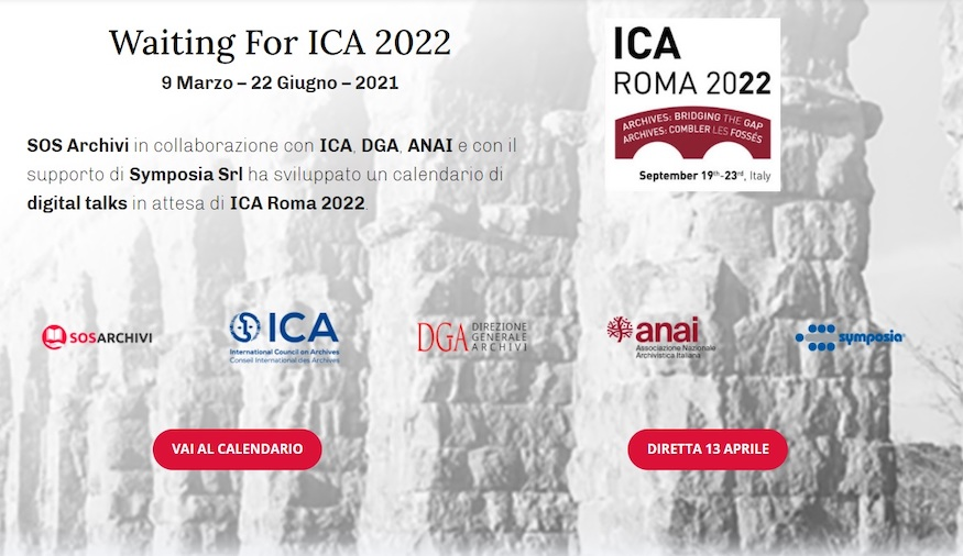 「Waiting for ICA Roma 2022」系列講座