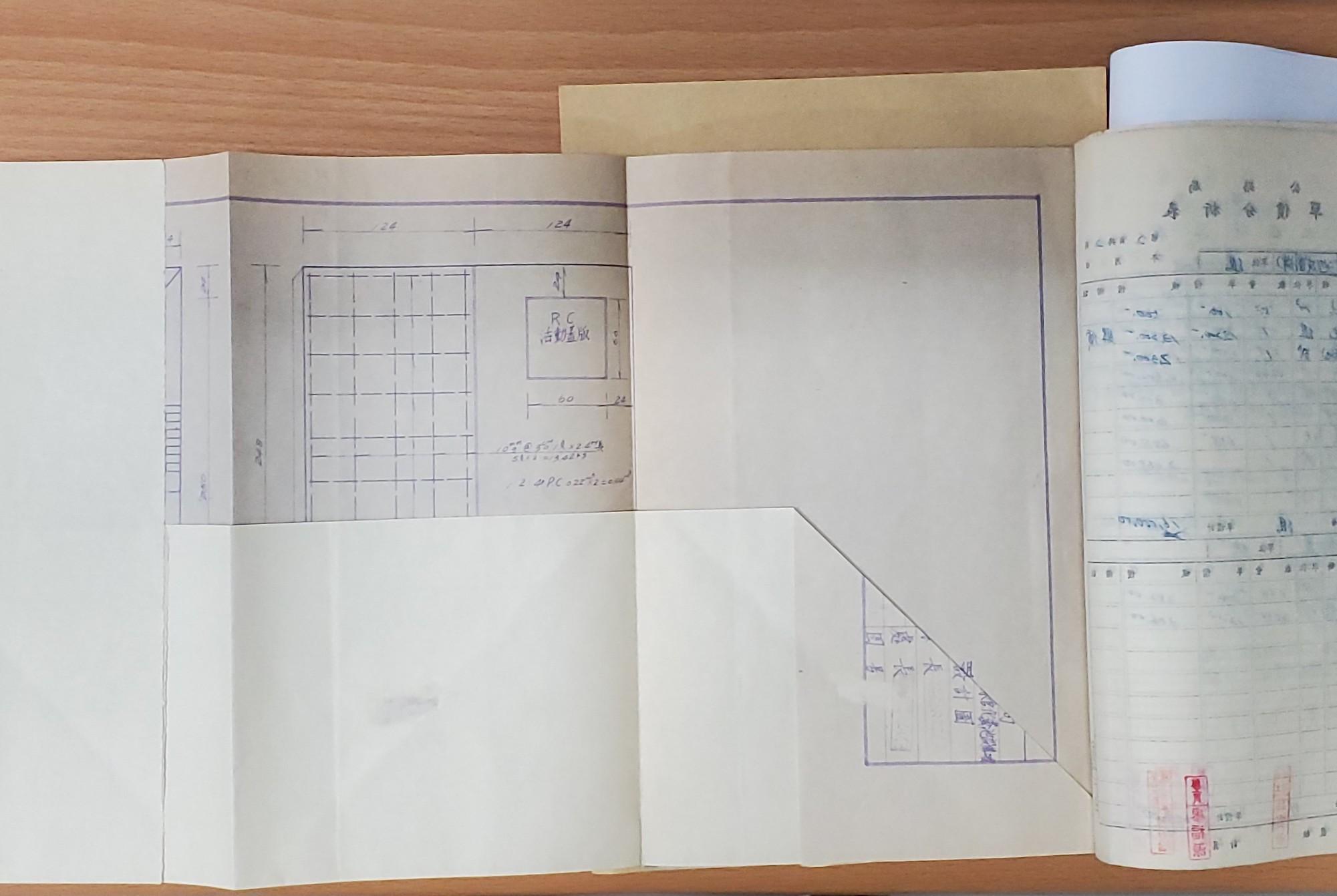 圖13 折疊裝訂後仍可攤開閱讀