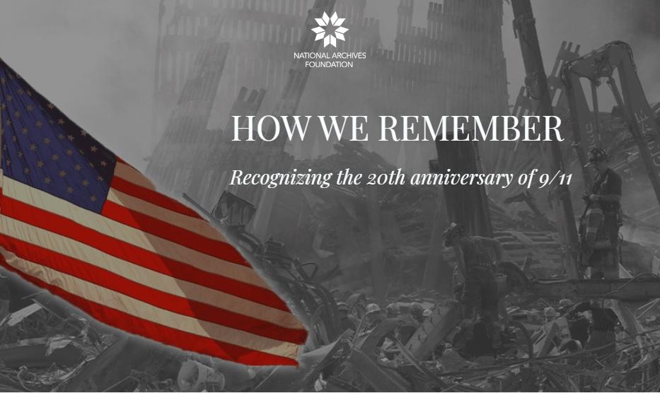 美國911事件20週年紀念網站上線